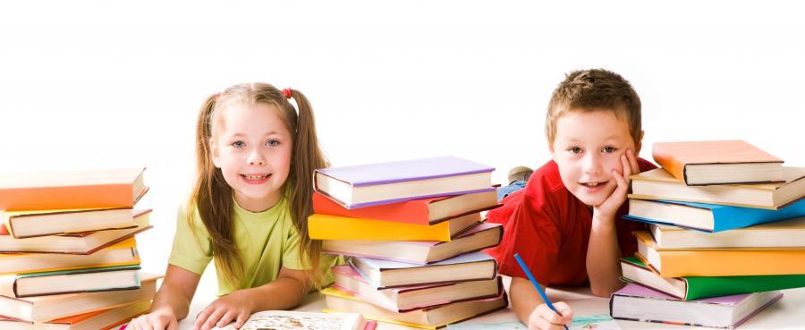 Børn læser