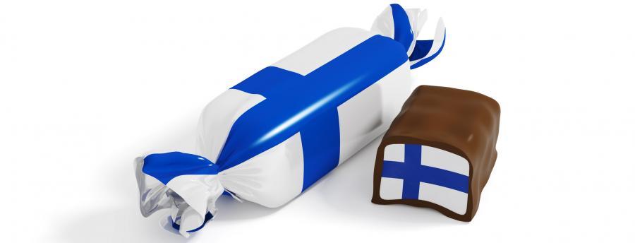 Slik med det finske flag