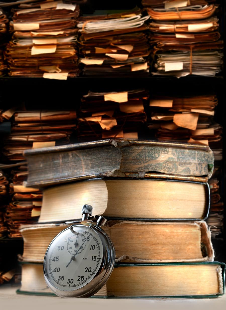 Bøger fra kælderen
